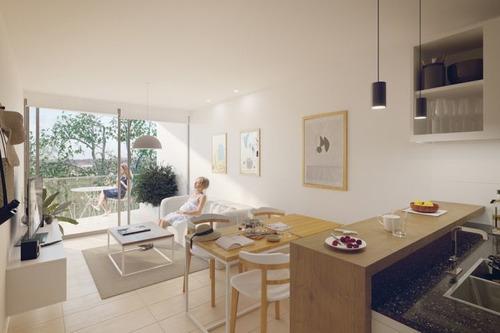 Venta Apartamento De 2 Dormitorios En Cordón. Be Tower Soho