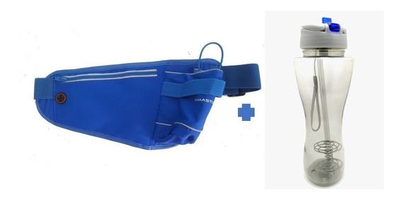 Pochete Hiratação + Garrafa Água Plastico Esqueeze + Frete G