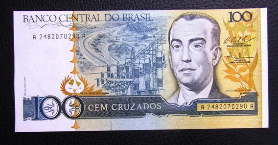 Brasil Billete 100 Cruzados Pick 211c Año 1986 Unc