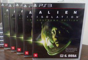 Alien Isolation Nostromo Edition Ps3 Mídia Física Lacrada