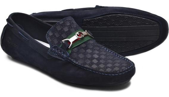 Kit6mocassim Sapato Drive Gucci Masculino Casual 100%couro