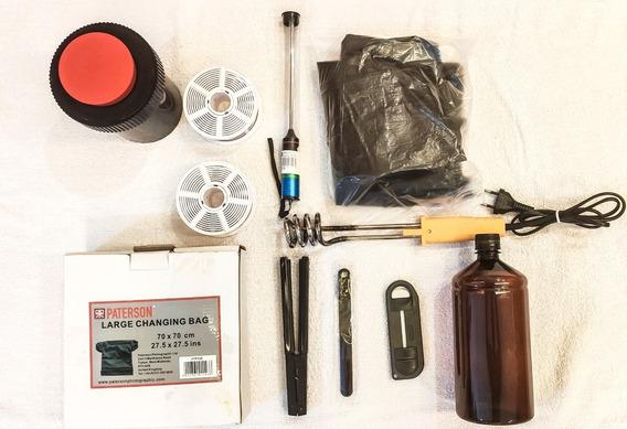 Kit Completo Revelação Filme 35mm