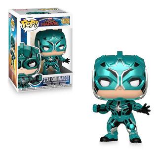 Funko Pop Figura Capitana Marvel Yon Rogg Int 36352 Orig