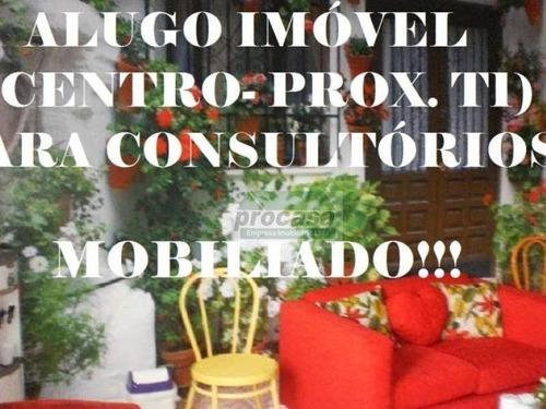 Ponto Para Alugar, 85m² Por R$ 1.800/mês - Centro - Manaus/am - Ideal Para Consultorios - Pt0014