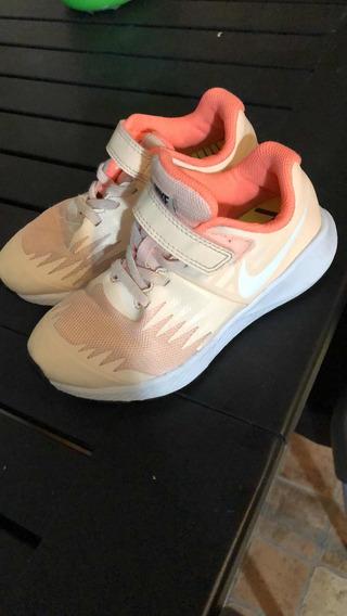 Zapatillas Nike Nena Talle 29.5 Casi Nuevas