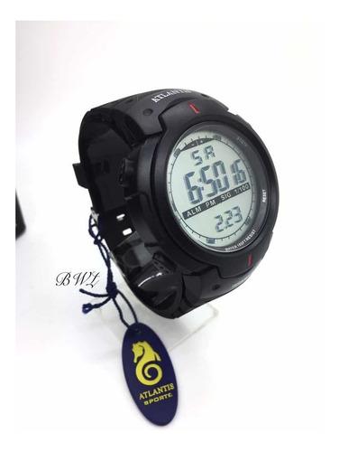 Relógio Atlantis Masculino Original Prova Dagua  7330