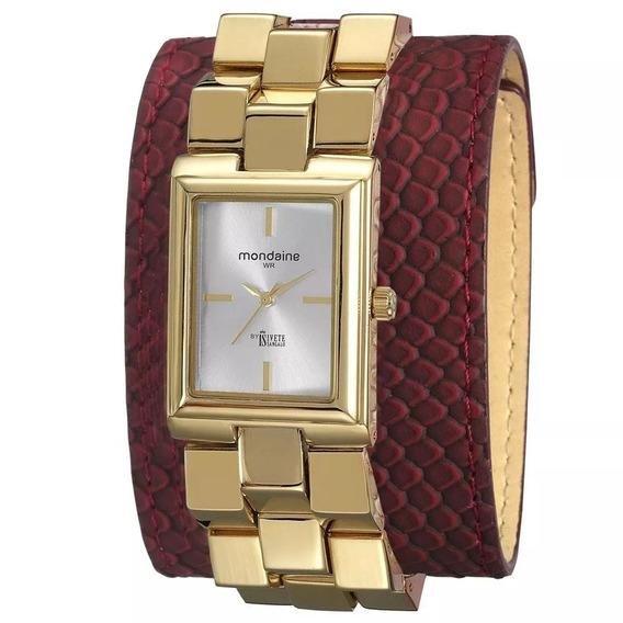 Relógio Feminino Mondaine 76392lpmvdh1 Ivete Sangalo - Novo