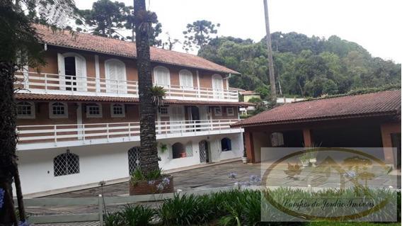 Casa Para Venda Em Campos Do Jordão, Morro Do Elefante, 9 Dormitórios, 3 Suítes, 10 Vagas - 264