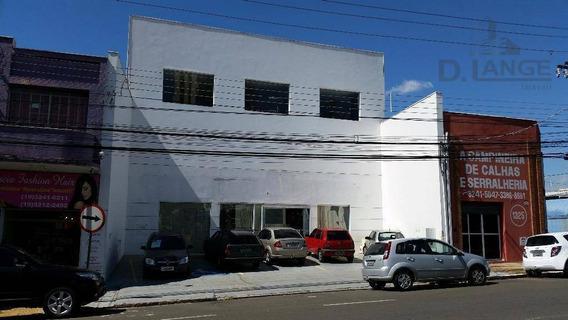 Salão Comercial Para Locação, Bonfim, Campinas. - Sl0543