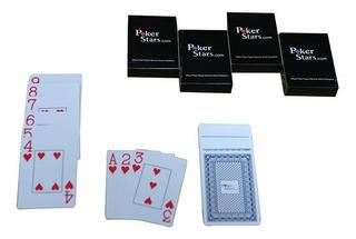 Baraja Cartas Poker Stars Standard 100 % Plásticas