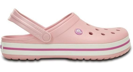 Crocs Crocband Originales Mujer Pearl Pink Rosa Bebe