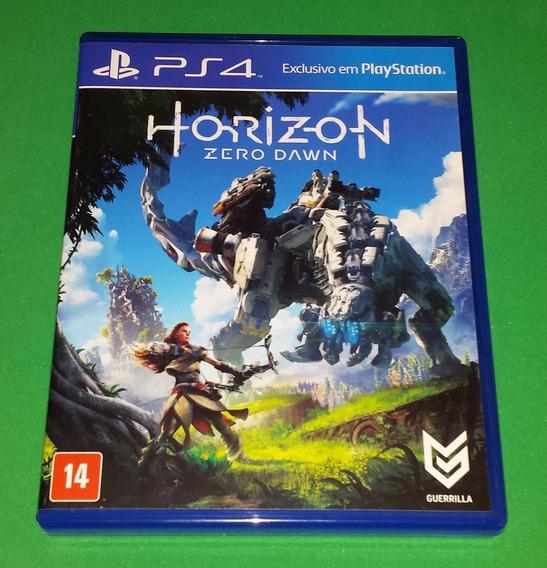 Horizon Zero Dawn Mídia Física Ps4 Playstation 4 Game