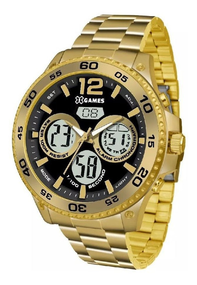 Relógio Xgames Xmgsa005-p2kx - Dourado