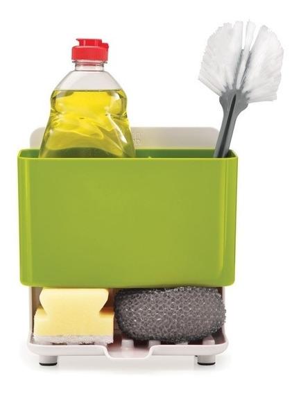 Organizador De Cocina Bacha Porta Esponja Cepillo Detergente