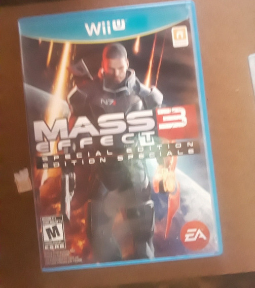 Mass Effect 3 Especial Edtion Original Wii U