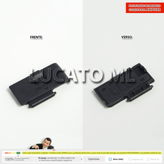 Porta Compartimento Bateria Canon T3i T4i Tampa 600d 650d Ap