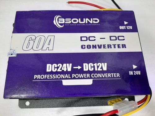 Convertidor 60 Amp Ukc Better Ddc-60a  Dc 24 V A Dc 12v