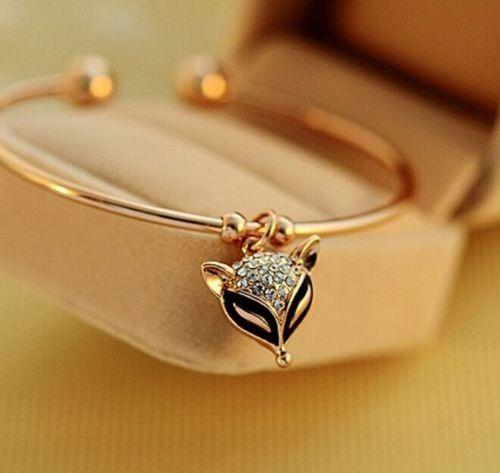 Pulseira Bracelete Lindo Elegante Auger Fox Feminino