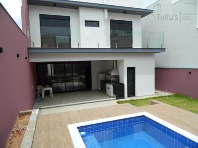 Casa Com 3 Suítes E Piscina À Venda, 274 M² Por R$ 930.000 - Jardim Portal Da Primavera - Sorocaba/sp - Ca0882