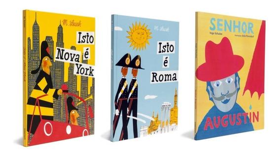 Livros Infantis Coleção Isto É Roma York + 1 + Frete Grátis