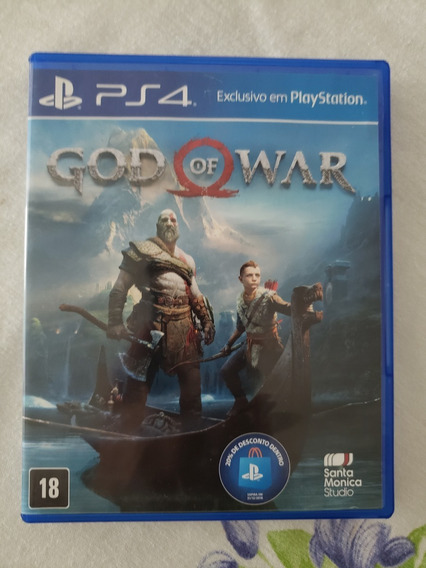 Game God Of War 4 Ps4 Midia Fisica
