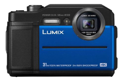 Panasonic Lumix TS7 compacta cor azul
