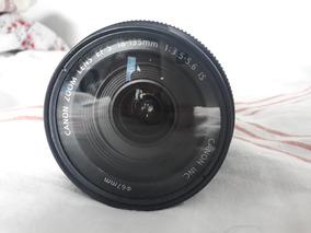 Lente Canon 18-135mm Estabilizada