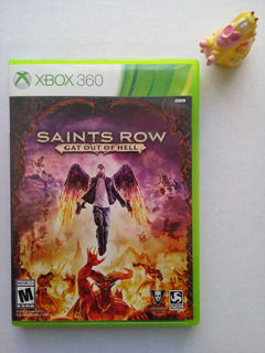 Saints Row Gat Out Of Hell Xbox 360 * Mundo Abierto Vg *