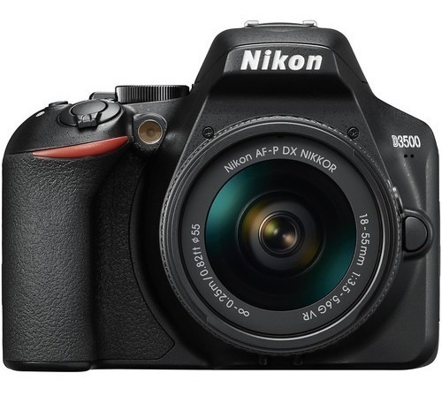 Camara Nikon D3500 Kit 18-55mm Vr Original Nueva Garantia!