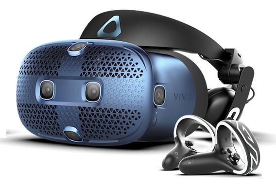 Htc Vive Cosmos Casco Realidad Virtual Pc Lente Vr + Mandos