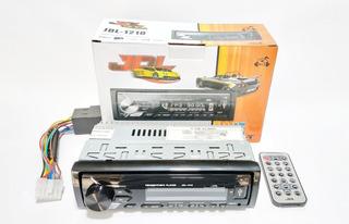 Radio Jdl Para Auto,puerto Usb,auxiliar,radio Fm,control Rem
