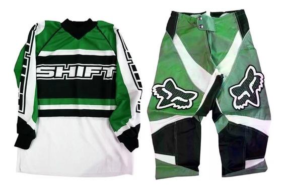 Conjunto Motocross Gama Niño Shift Top Racing