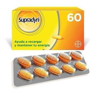 Supradyn Comprimidos Laqueado X 60 Vitamina Bayer