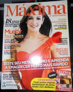 Revista Máxima Nº 37 Patricia Poeta Ivete Sangalo Junho 2013