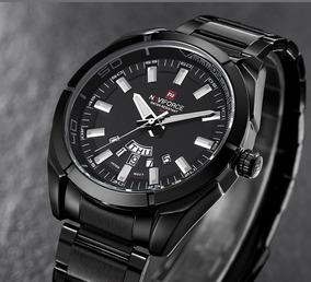 Relógio Naviforce Original Modelo Nf 9038 M - Preto