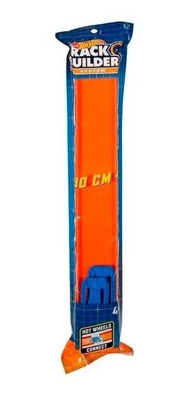 Hot Wheels Pista Naranja Ccx79 E. Full