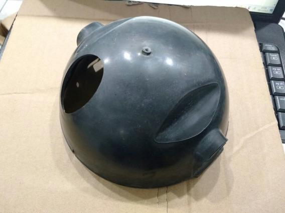 Carcaça Farol Rx 125 Plastico Injetado Preta