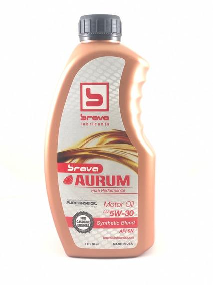 Aceite 5w-30 Semisintetico Brava Api Sn Importado