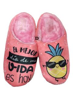 Pantuflas Abrigo Mujer Sweet Dreams Calzado Caballito