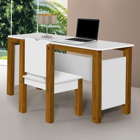 Conjunto Mesa Escrivaninha Infantil 1 Cadeira Isis Dfwt
