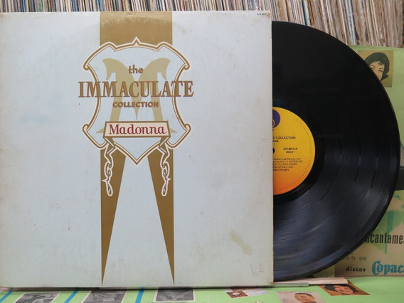 Madonna The Immaculate Collection Lp Álbum Duplo Encartes