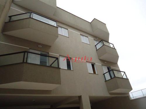 Apartamento Com 2 Dormitórios À Venda, 53 M² Por R$ 320.000,00 - Campestre - Santo André/sp - Ap1630