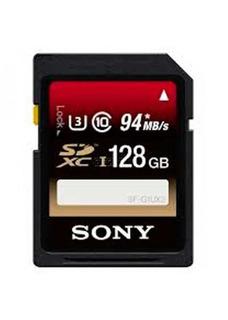 Memory Card 128 Gb Sdxc U3 Class 10 (86107492) Sony