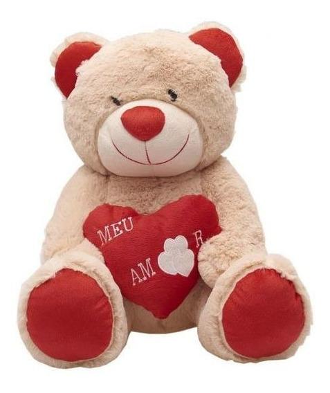 Ursinho De Pelúcia Amoroso Bichinhos Carinho - 455 - Creme