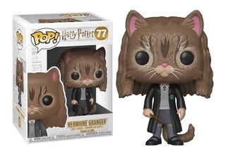 Funko Pop! Harry Potter Hermione Gato 77 - Giro Didáctico