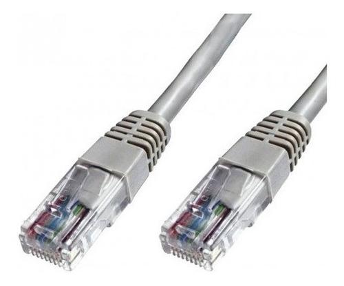 Cable De Red Armado 5mts Rj45 Cat 5e Patch Cord Internet