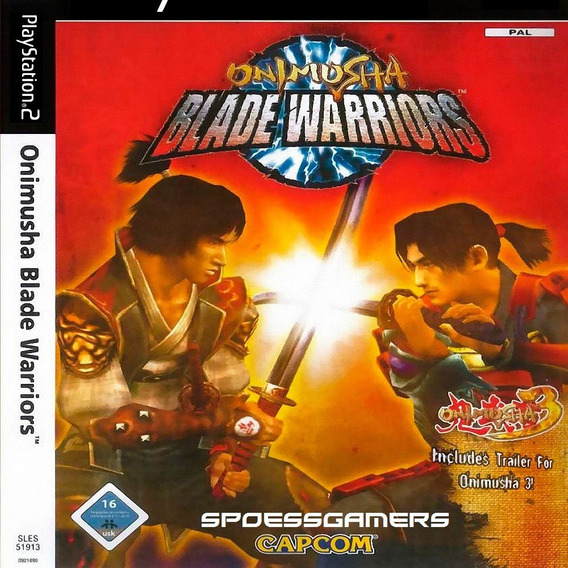 Onimusha Blade Warriors Ps2 Desbloqueado Patch