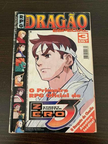 Revista Dragão Especial Street Fighter Rpg Raridade Edição 1