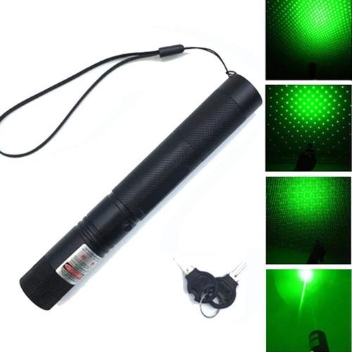 Puntero Laser Verde Astronomico Bateria 1000 Mw Pila 18650