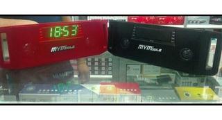Parlante Reloj Despertador Mymobile